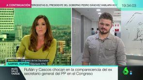 (09-10-18) Gabriel Rufián, sobre el rifirrafe en la comisión