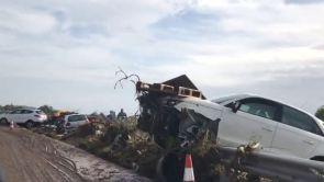 (10-10-18) Las sobrecogedoras imágenes de las inundaciones en Sant Llorenç desde el epicentro de la catástrofe