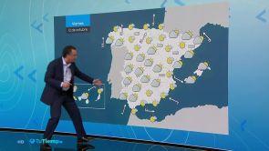 (11/10/18) Se esperan lluvias en el oeste de Galicia y Andalucía