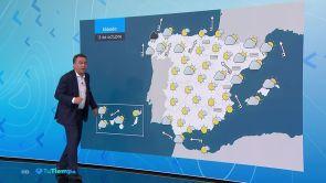 (12-10-18) Lluvia en Galicia y vientos fuertes en litorales gallego y cantábrico