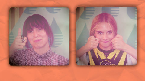 Nus Cuevas y Paula Gureta | Game Girls