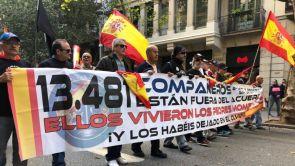 (10-11-2018) Jusapol se vuelve a manifestar en Barcelona para exigir al Gobierno la equiparación salarial
