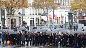 (11-11-2018) Europa conmemora el 100 aniversario del armisticio que acabó con la Primera Guerra Mundial