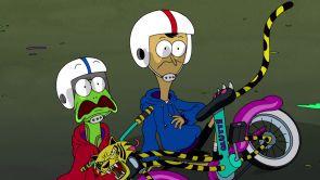 Capítulo 42: Psicópata en bici / Despeñando