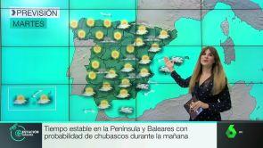 (12-11-18) Tiempo estable en la Peninsula y Baleares