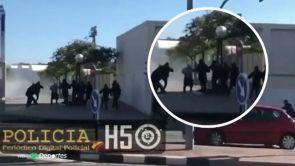 (12-11-18) Investigan si la pelea entre ultras del Hércules y del Castellón fue planificada