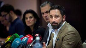 (05-12-18) Las condiciones de Abascal para empezar a negociar con PP y Ciudadanos en Andalucía