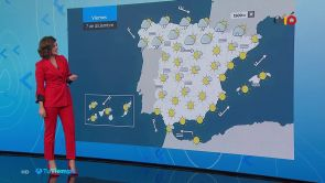 (06-12-18) Ligero descenso de las temperaturas en la península