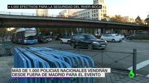 (08-12-18) Un despliegue policial de final de Champions: Madrid se blinda para el River vs Boca de la Copa Libertadores