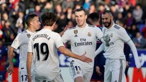 (09-12-18) Gareth Bale lidera una victoria sufrida del Real Madrid ante el Huesca
