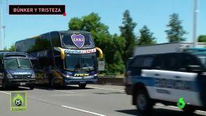 (11-12-18) Recibimiento de Boca Juniors en Argentina