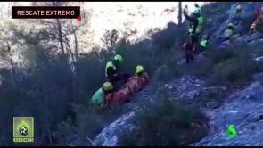(12-12-18) Rescate extremo a un ciclista