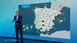 (12-12-18) Lluvia en todo el país, más intensa en el litoral catalán y balear