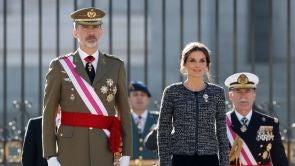"""(06-01-19) Felipe VI reivindica la bandera como símbolo de """"unidad"""" en la Pascua militar"""
