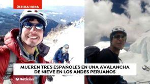 (08-01-19) Tres españoles mueren en Los Andes