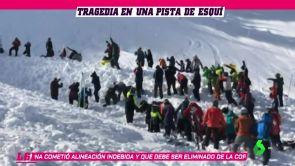 (18-01-19) Tragedia en la nieve: un esquiador muere tras una avalancha en Nuevo México