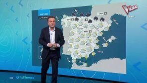 (22-01-19) Mañana importantes nevadas en la mitad norte peninsular