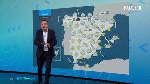 (23-01-19) Mañana, lluvia en el norte del país y subida generalizada de la cota de nieve