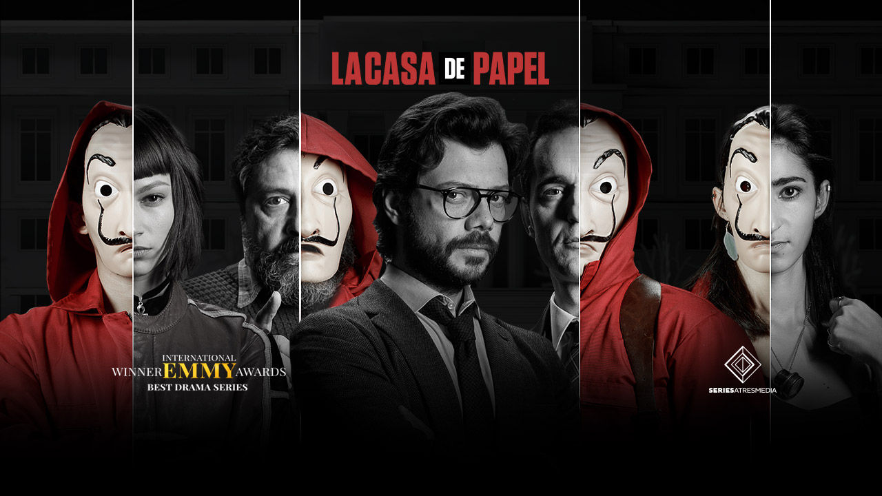 Image result for la casa de papel serie""