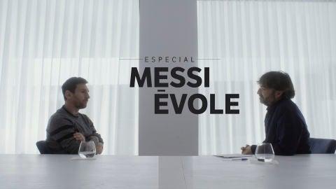 Messi con Évole